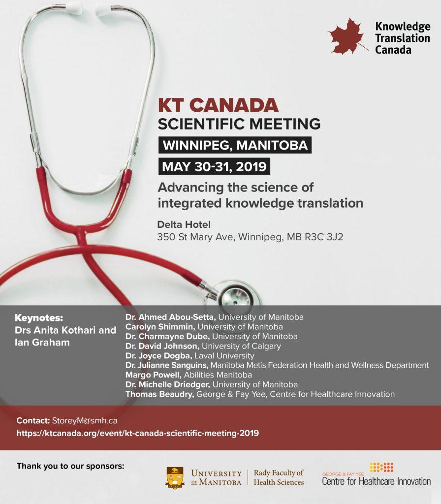 KT Canada   KT Canada Scientific Meeting 2019